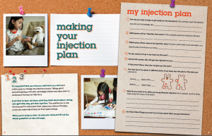 """Produced by the Autoinflammatory Alliance, the """"Healthier Ever After"""" book helps families with young children thrive and cope with frequent (and often very painful) injectable medications to help treat autoinflammatory diseases."""