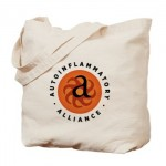 round_autoinflammatory_alliance_logo_tote_bag