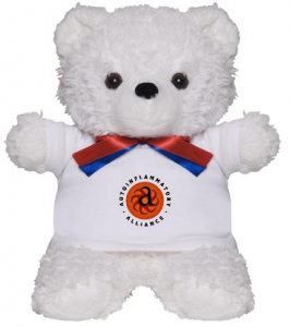 Teddy Bear w/ logo shirt