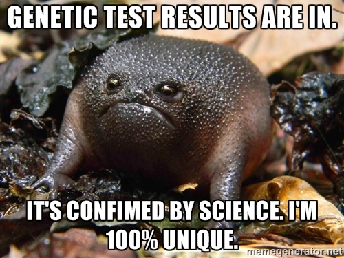 genetic test mutant meme