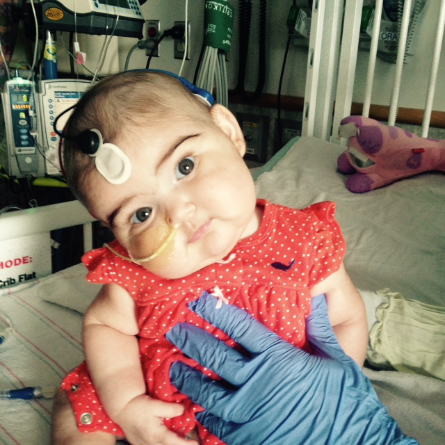 Thankfully Olivia's doctors knew of NLRC4. She now has a diagnosis and is on treatment. She's expected to be able to go home soon!