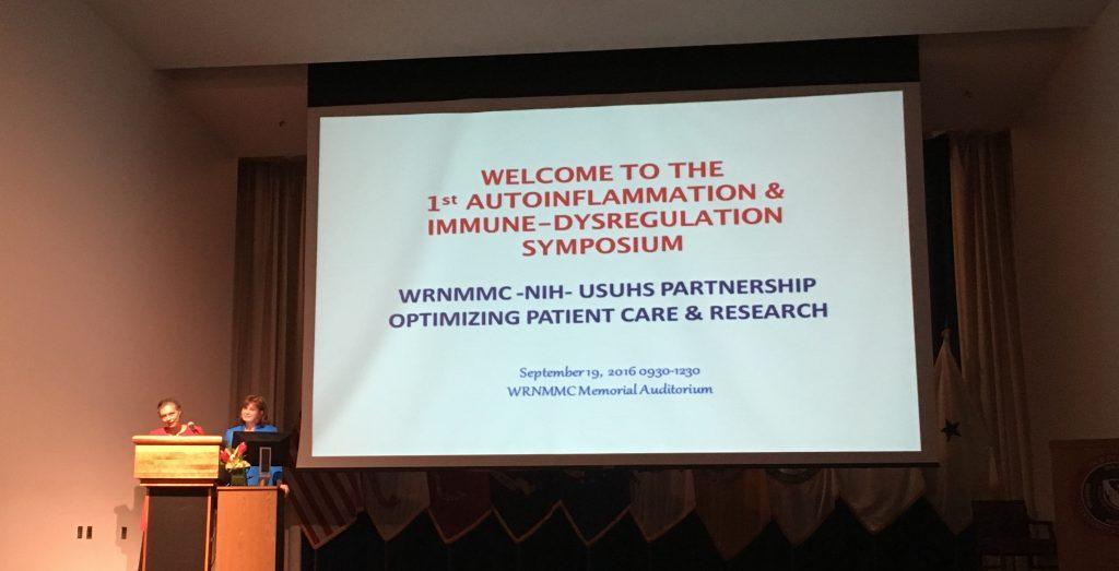 2016 Autoinflammatory Symposium