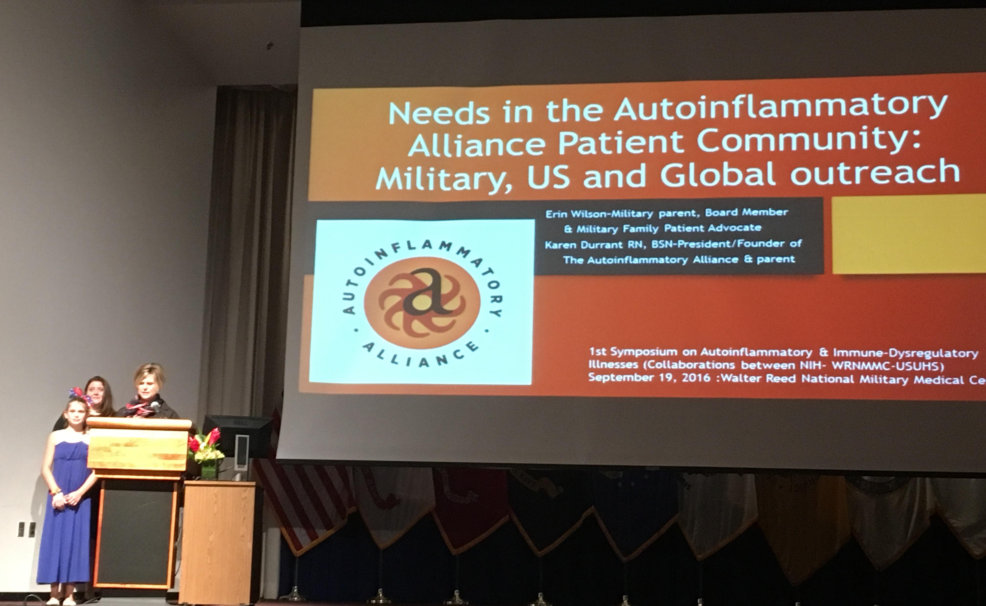 karen durrant autoinflammatory symposium